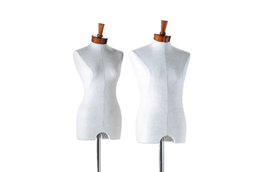 Styrofoam bust form male and female - LIde